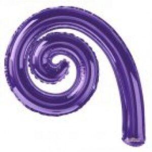 Kurly Espiral Americano Metal Morado