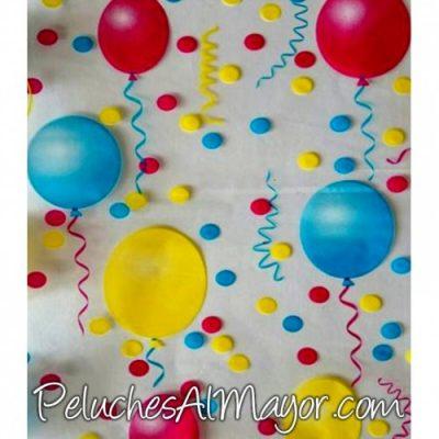 Papel Celofan de globos de colores