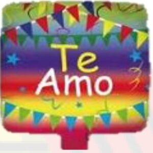 10'' Te Amo Banderines