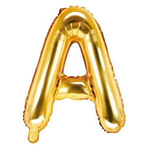 """16"""" Letra Metaliz. Dorado """"A"""""""