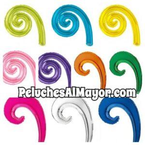 Globos Kurly Espiral y Wave Variados