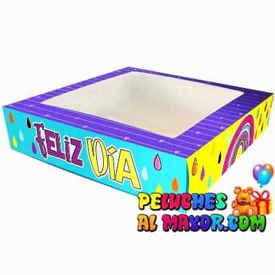 Cajas Canelo Bombonera Feliz DIa x 8u