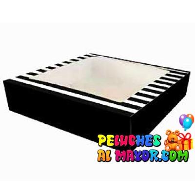 Cajas Canelo Bombonera rayas x 6u