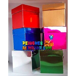 Cajas Cubo 11x11 brillante x12 unid