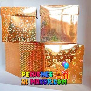 Cajas Cubo 11x11 holograma x12 unid