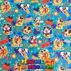 Papel de Regalo Infantil Mickey x 12 pliegos