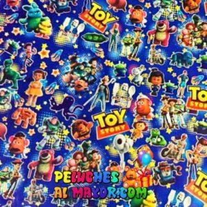 Papel de Regalo Infantil Toy Storyx 12 pliegos