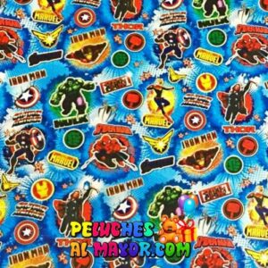 Papel de Regalo Infantil Vengadoresx 12 pliegos