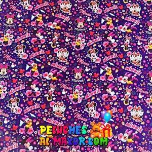 Papel de Regalo Infantil Minnie x 12 pliegos