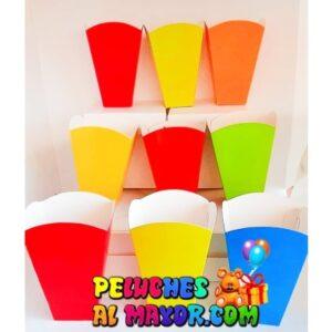 Cajas cotufera Peq Unicolor x12 unid