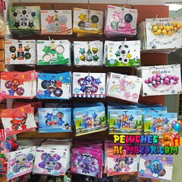 Exhibicion globos bouquet PeluchesAlMAyor.com