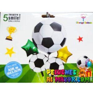 Bouquet Jumbo Balones Futbol