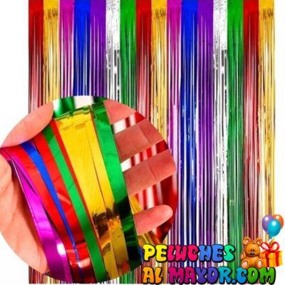 Cortinas Metalizado Multicolor