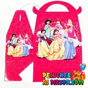 Caja Lonchera Med. Princesas x6 unid