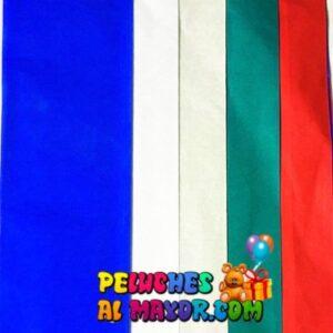 Papel de Seda Multicolor 2A - x5 pliegos