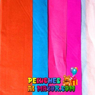Papel de Seda Multicolor 3N - x5 pliegos
