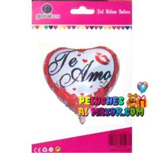 18'' Amor Cor TA Rojo Beso Blister