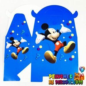 Caja Lonchera Med. Mickey x6 unid
