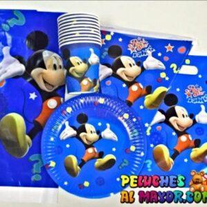 Set Fiesta Mickey 10 piezas