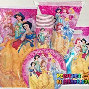 Set Fiesta Princesas 10 piezas