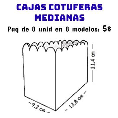 Cajas Canelo Cotufera Med