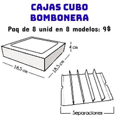 Cajas Canelo Bombonera