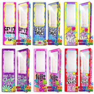 Cajas Canelo Flores F. Dia x 6u