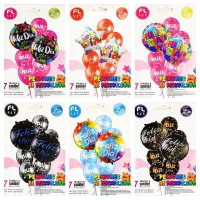 Bouquet FD Variados 7 piezas x6 unid