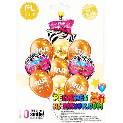Bouquet FC Pastel Zebra 10 piezas