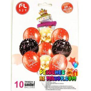 Bouquet FC Pastel Inclinado 10 piezas