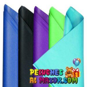 Papel de Seda Colores Mascul. x 25 pliegos