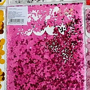 Confetti Círculos Peq. Fucsia x2 unid