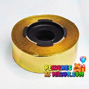 Cinta 30mm Metalizado Dorado x 25m