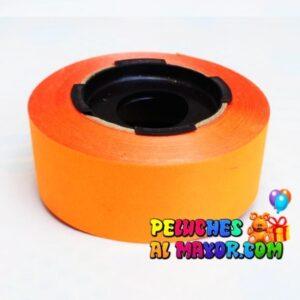 Cinta 30mm Neón Naranja x 25m