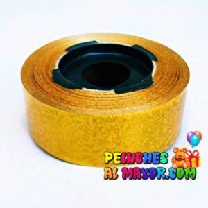 Cinta 30mm Holog Dorado x 25m