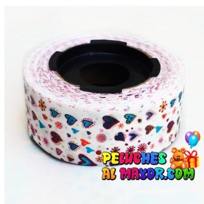 Cinta 30mm Est Coraz Color x 25m