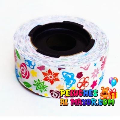Cinta 30mm Est Flores x 25m