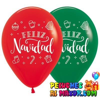 R12 Sempertex Navidad Verde/Rojo x25 unid