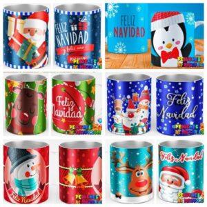 Taza Navidad Surtidos x6 unid