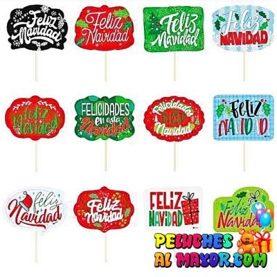 Piropos Mediano Navidad Msje x12 unid