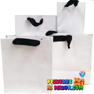 Bolsa Blanca Pack 4 tamaños x 24unid