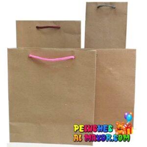 Bolsa Kraft Pack 4 tamaños x 24unid