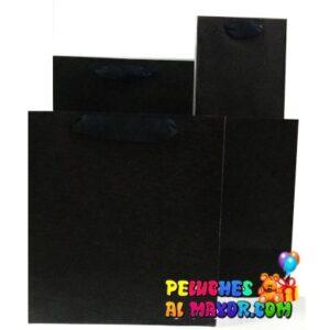 Bolsa Negra Pack 4 tamaños x 24unid