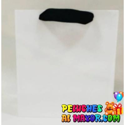 Bolsa Blanca 20x22 Mediana x 6unid