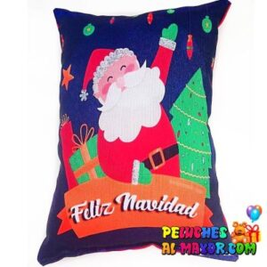 Cojín Santa Arbol Navidad