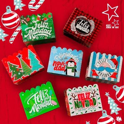 Cajas Canelo Cotufera Med Navidad x8 unid