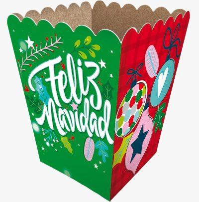 Cajas Canelo Cotufera Peq Navidad x 12u