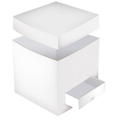 Cajas Canelo Cajon Blanco x1 unid