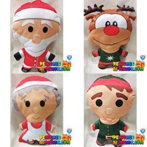 Cojin Mediano Navidad Surtido x4 und