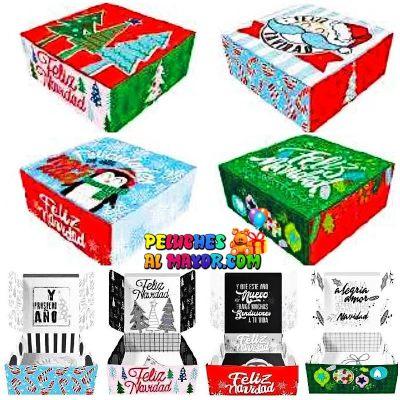 Cajas Canelo Sorpresa Med Navidad x 8u